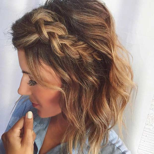 17 Chic Braided Hairstyles for Medium Length Hair | Page 2 of 2 | StayGlam