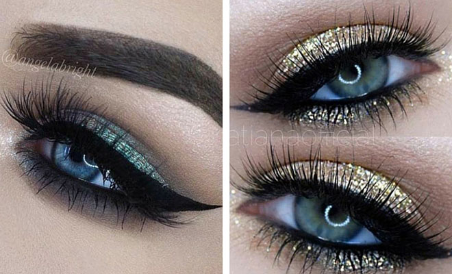 Makeup tips for blue eyes