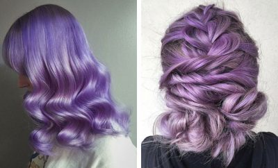 Lavender Hair Looks