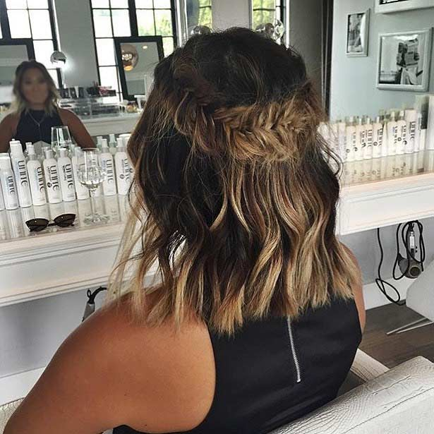 Swell 17 Chic Braided Hairstyles For Medium Length Hair Stayglam Short Hairstyles For Black Women Fulllsitofus