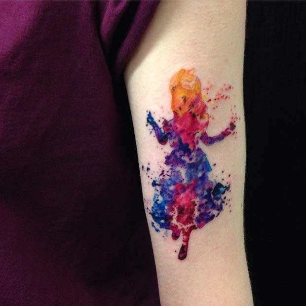 3bf8ddb90 25 Cute Disney Tattoos That Are Beyond Perfect | Page 2 of 3 | StayGlam