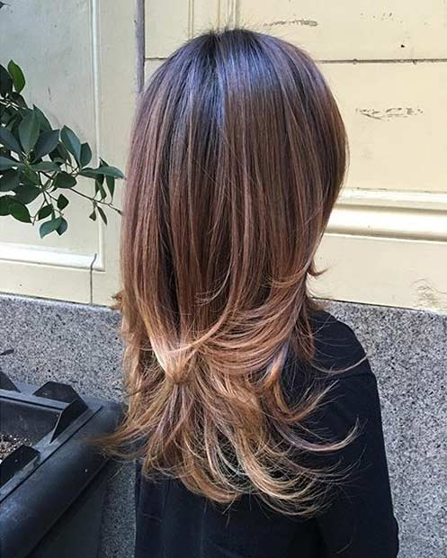 51 Beautiful Long Layered Haircuts Stayglam