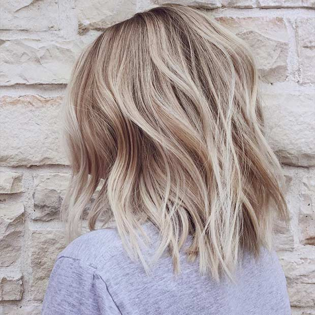 21 Cute Lob Haircuts For This Summer Page 2 Of 2 Stayglam