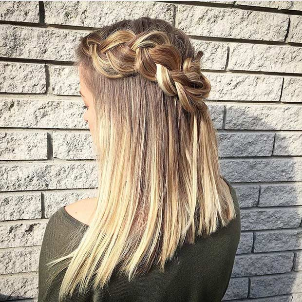 Fabulous 17 Chic Braided Hairstyles For Medium Length Hair Stayglam Short Hairstyles For Black Women Fulllsitofus