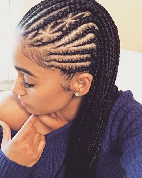 31 Cornrow Styles to Copy for Summer | StayGlam