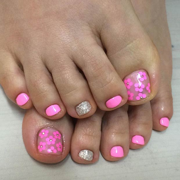 25 Toe Nail Designs that Scream Summer | StayGlam