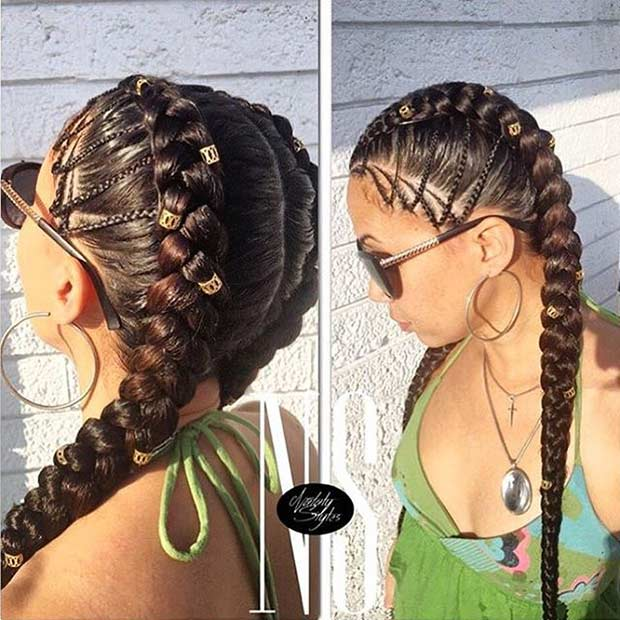 21 Trendy Braided Hairstyles To Try This Summer Page 2 Of 2 Stayglam