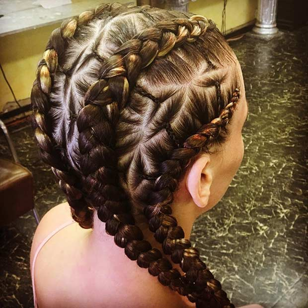 21 Trendy Braided Hairstyles to Try This Summer | Page 2 of 2 | StayGlam