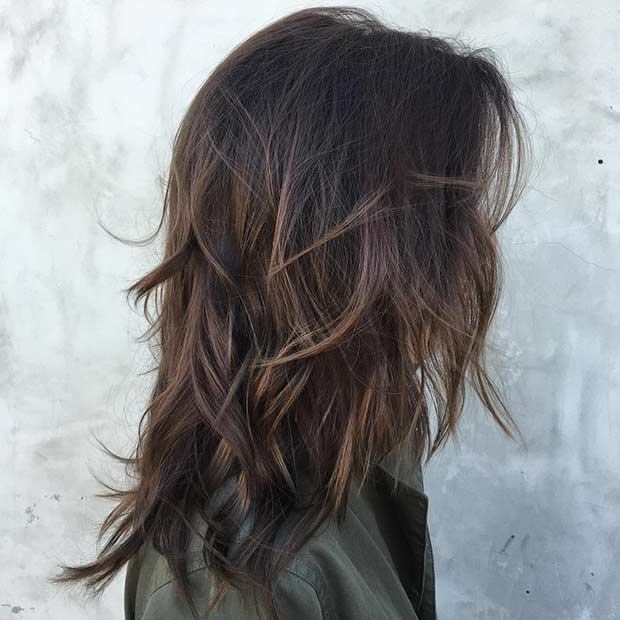 Textured Layers for Long Hair