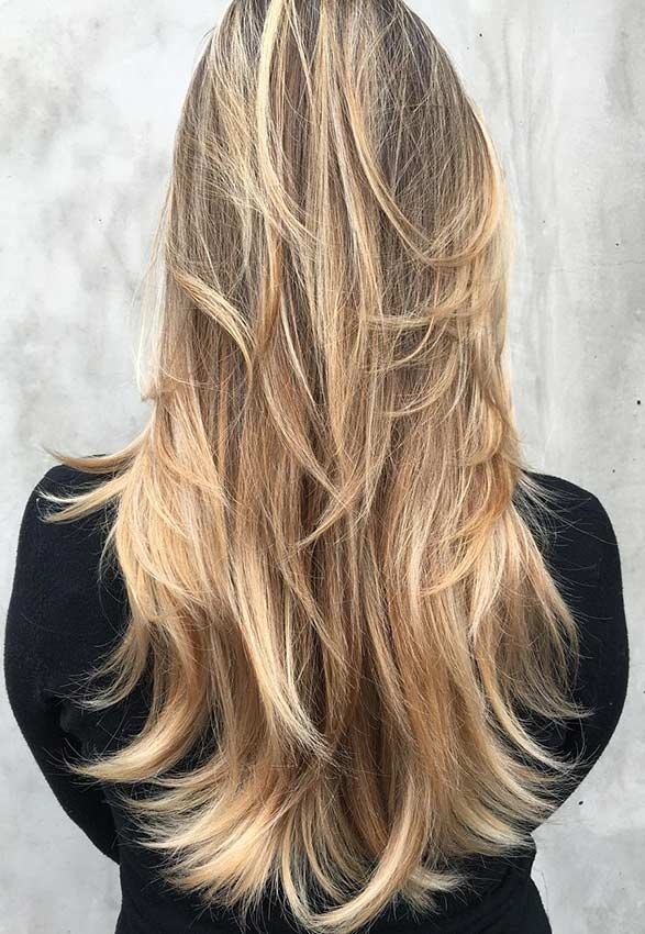 31 Beautiful Long Layered Haircuts Page 3 Of 3 Stayglam