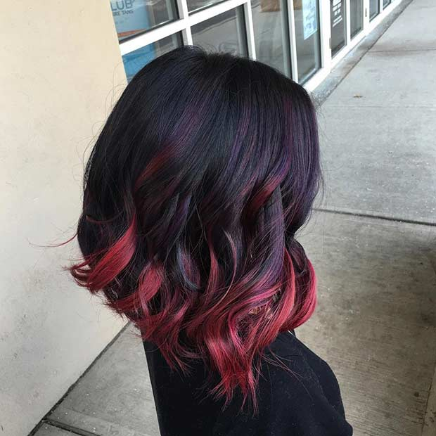 31 Best Red Ombre Hair Color Ideas Page 2 Of 3 Stayglam