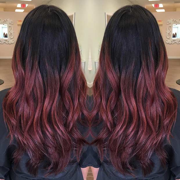 31 Best Red Ombre Hair Color Ideas Page 3 Of 3 Stayglam