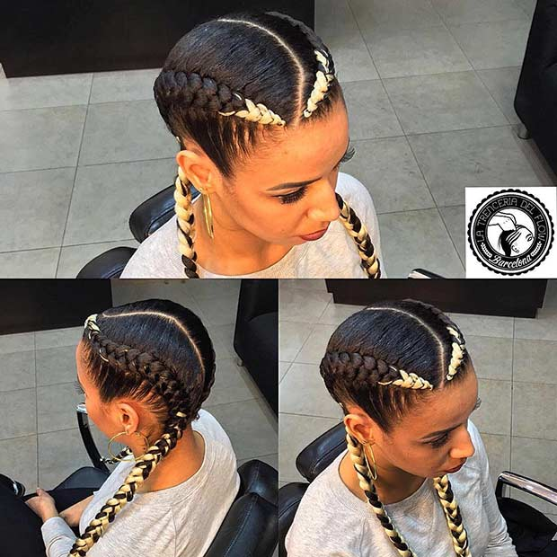 31 Cornrow Styles To Copy For Summer Page 2 Of 3 Stayglam