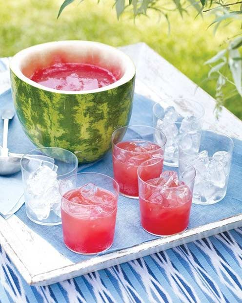 Watermelon Vodka Summer Drink
