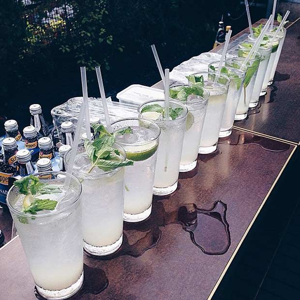 Mojito Summer Alcoholic Drink