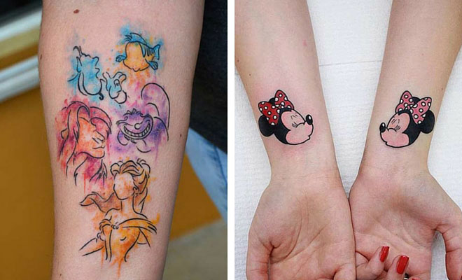 Tattoo Designs Disney: 25 Cute Disney Tattoos That Are Beyond Perfect