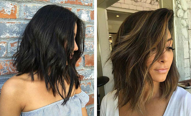 21 Cute Lob Haircuts For This Summer Stayglam
