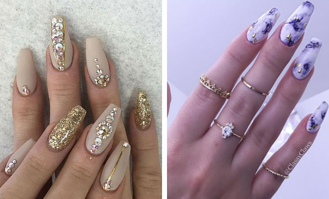 45 Fun Ways To Wear Ballerina Nails Stayglam