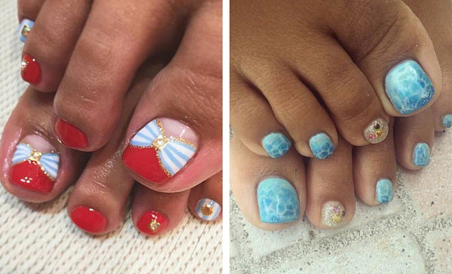25 Toe Nail Designs That Scream Summer Stayglam