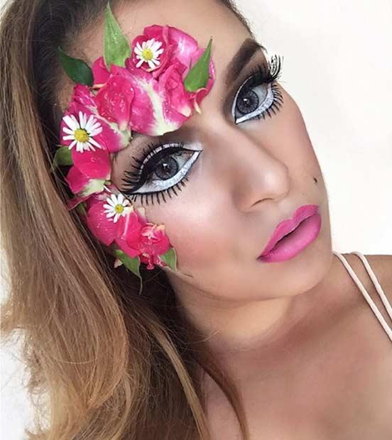 Pretty Fairy Halloween Makeup Look