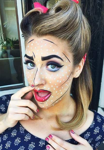 Halloween Makeup Ideas Easy Makeup Looks.21 Easy Diy Halloween Makeup Looks Page 2 Of 2 Stayglam