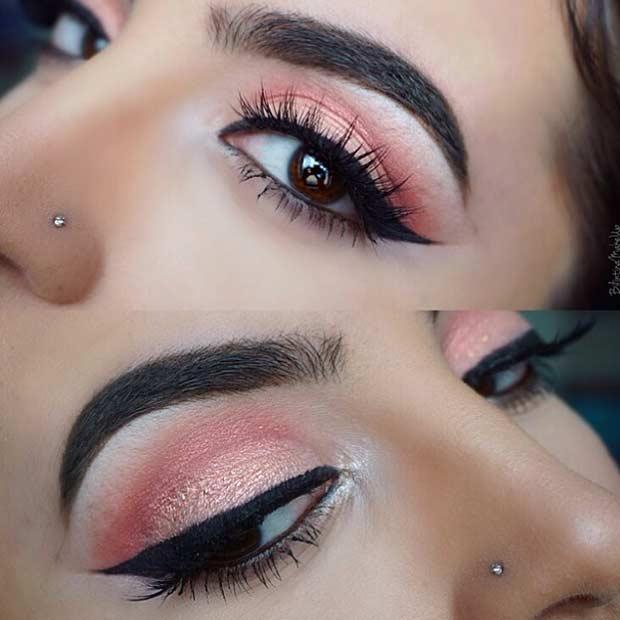 Bright Summer Eye Makeup Look
