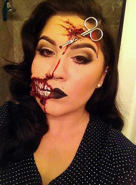 21 Scary Halloween Makeup Ideas | Page 2 of 2 | StayGlam