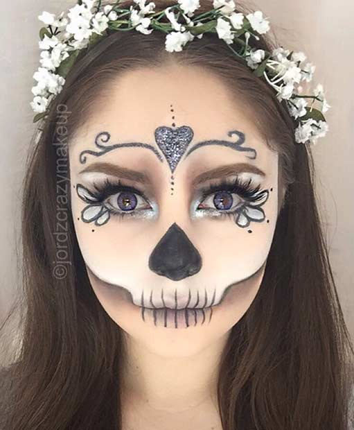 21 easy diy halloween makeup looks stayglam. Black Bedroom Furniture Sets. Home Design Ideas