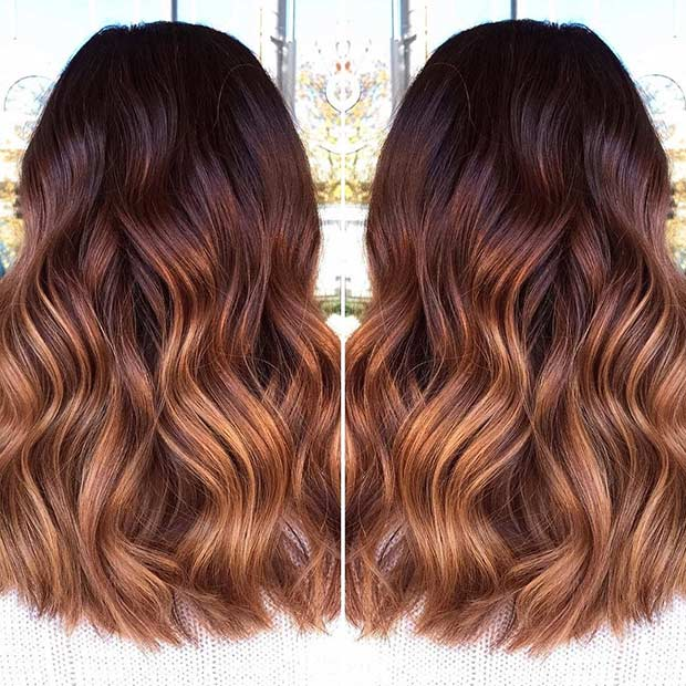 25 Copper Balayage Hair Ideas For Fall Page 3 Of 3
