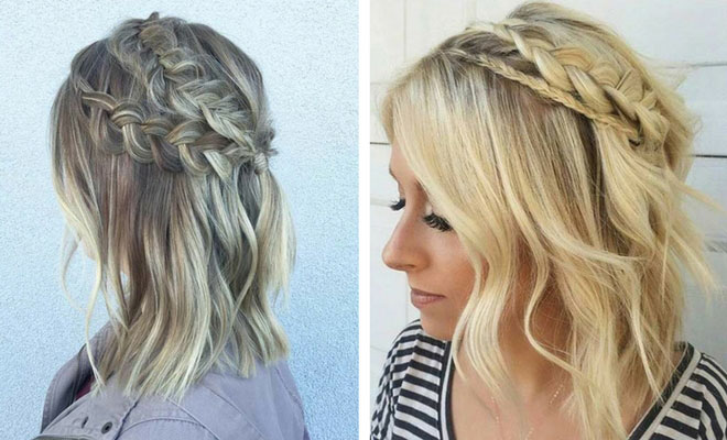 17 Chic Braided Hairstyles for Medium Length Hair | StayGlam