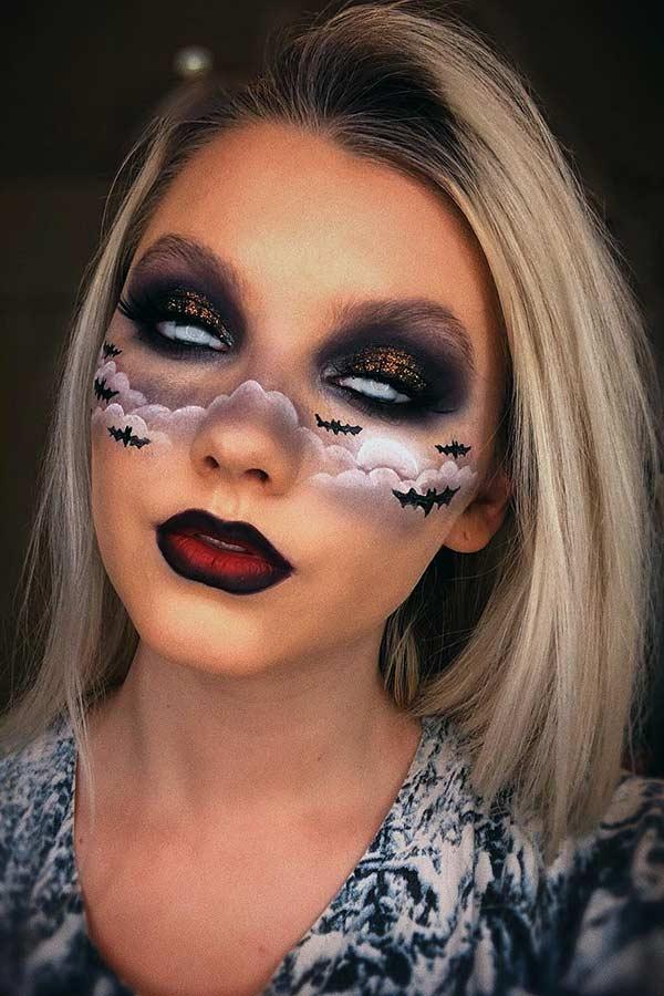 Bat Makeup Halloween Costume.Bat Costume Makeup Saubhaya Makeup