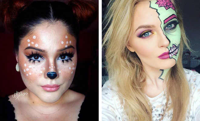 41 Easy DIY Halloween Makeup Looks