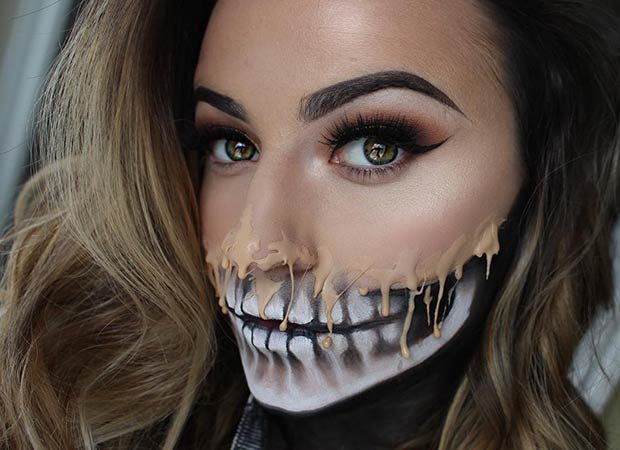 Halloween Make Up Skelet.23 Cool Skeleton Makeup Ideas To Try For Halloween Page 2