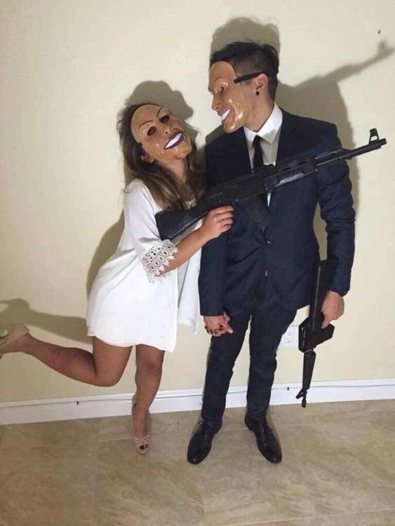 the purge couple halloween costume idea