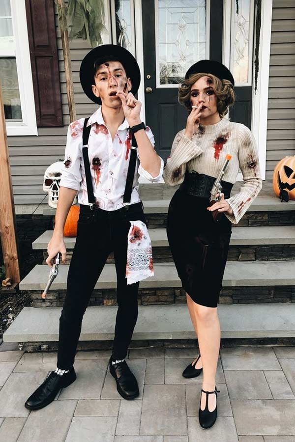 Bonnie and Clyde Couples Costume