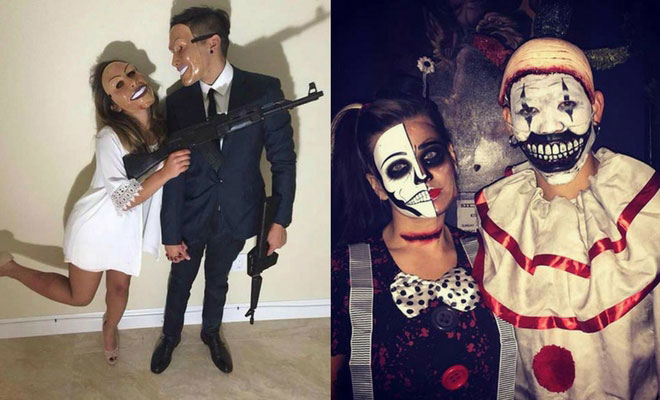 25 unique halloween costumes for couples stayglam. Black Bedroom Furniture Sets. Home Design Ideas