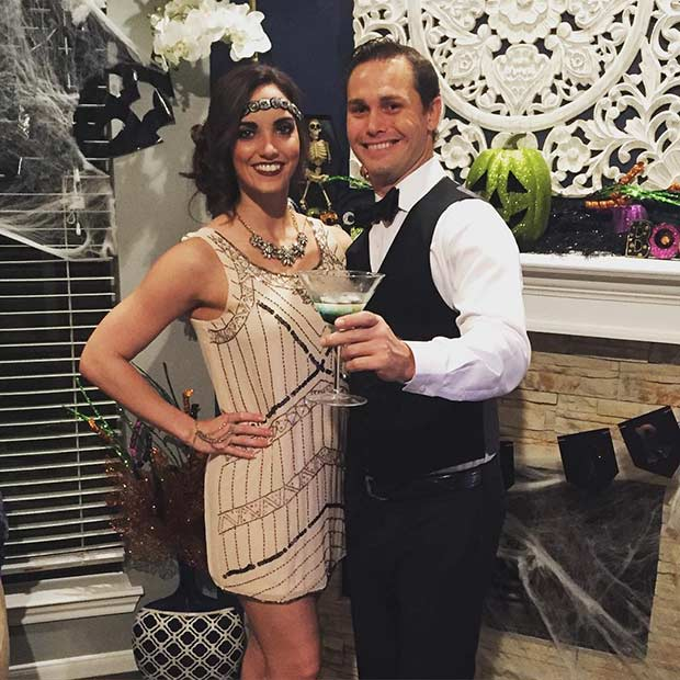1920s Couple Costume for Halloween  sc 1 st  StayGlam & 21 DIY Couples Costumes for Halloween | StayGlam