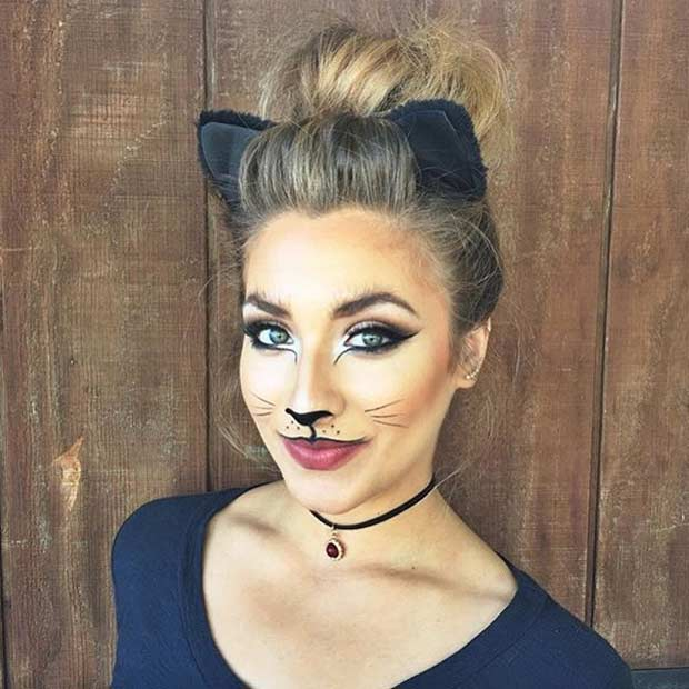 23 Pretty And Easy Halloween Makeup Looks Stayglam