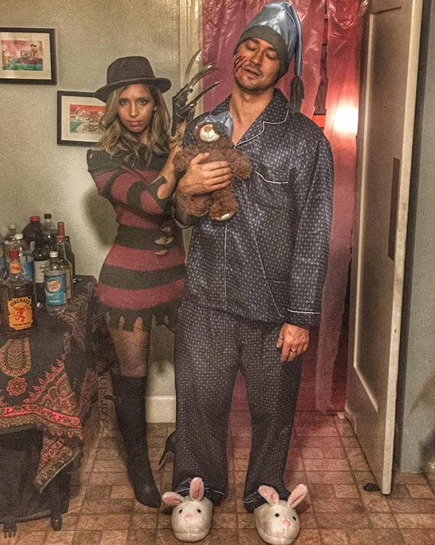 Freddy Krueger Couples Halloween Costume Idea
