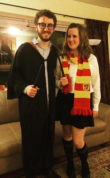 Harry Potter DIY Couple Halloween Costume  sc 1 st  StayGlam & 21 DIY Couples Costumes for Halloween | StayGlam