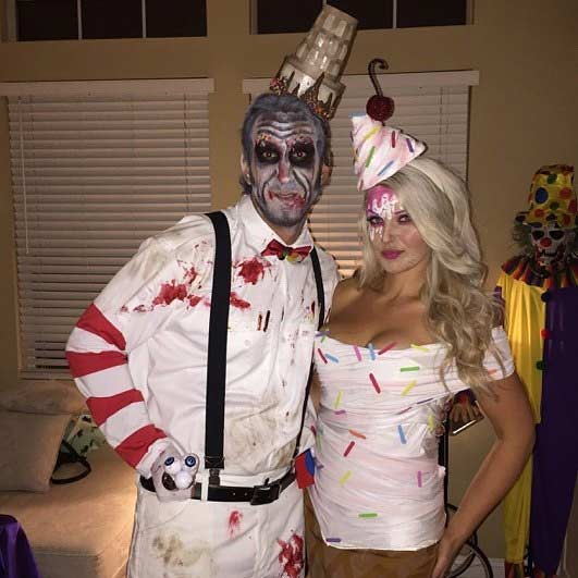scary ice cream couple halloween costume - Couple Halloween Costumes Scary