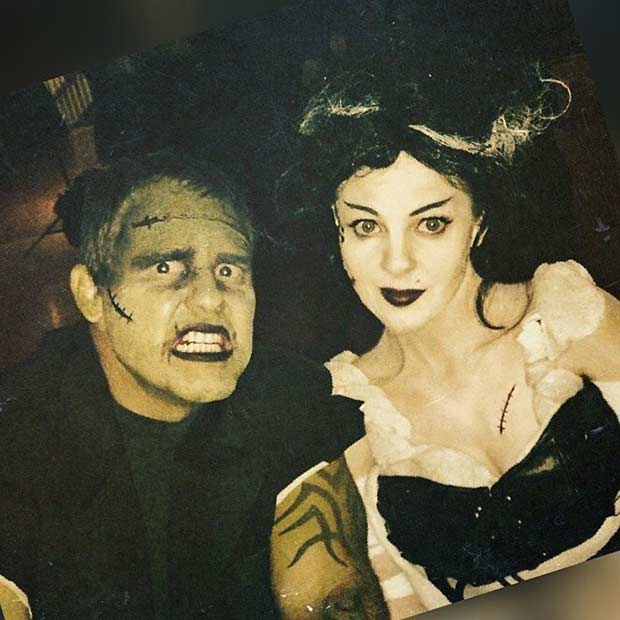 Frankenstein Couple Halloween Costume
