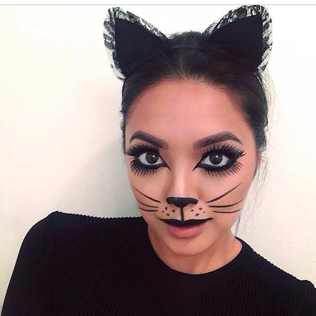 23 Pretty and Easy Halloween Makeup Looks | StayGlam