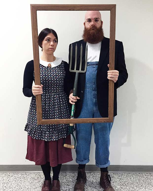 American Gothic Couples Halloween Costume Idea