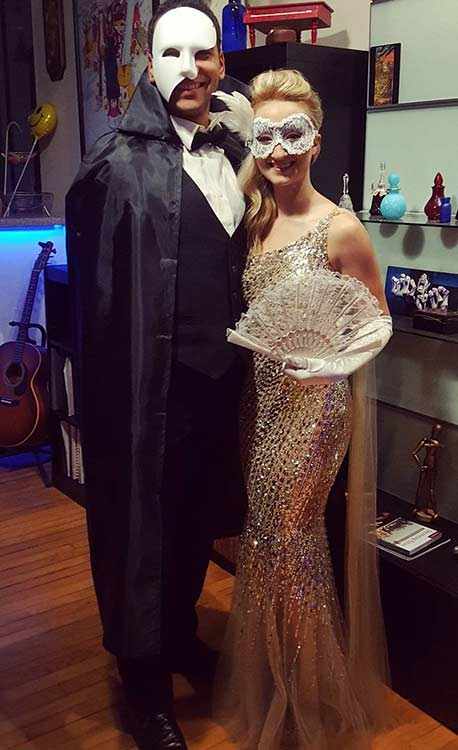 Phantom of the Opera Couple Halloween Costume