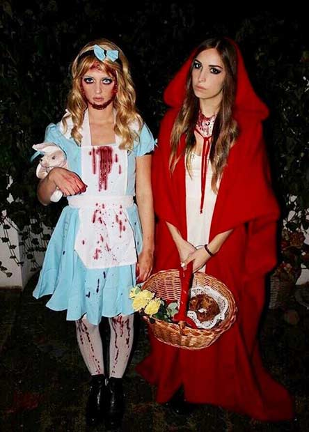 Spooky BFF Costume Idea for Halloween  sc 1 st  StayGlam & 25 Halloween Costume Ideas for You and Your BFF | StayGlam