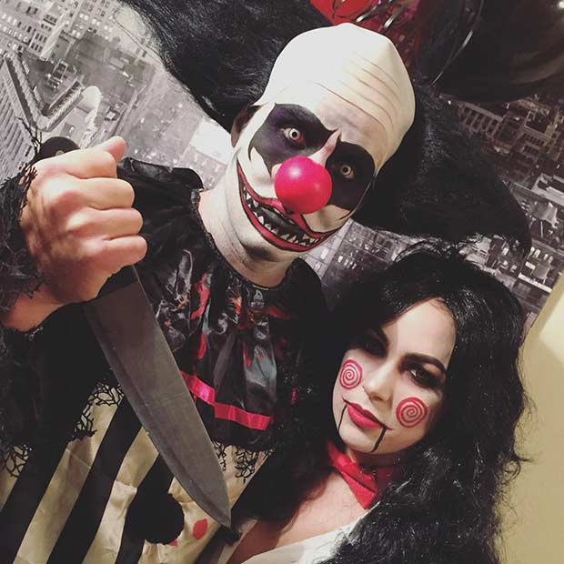 Scary Halloween Costume for Couples