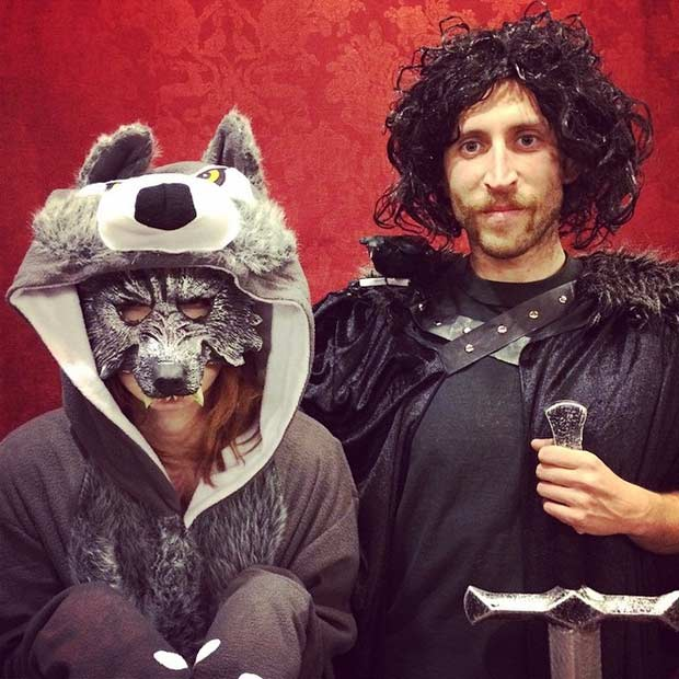 Funny Game of Thrones Couple Halloween Costume