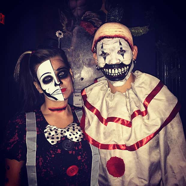 scary couple halloween costume idea - Couple Halloween Costumes Scary