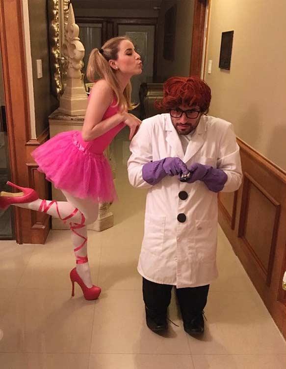 Dexter's Laboratory DIY Couple Halloween Costume